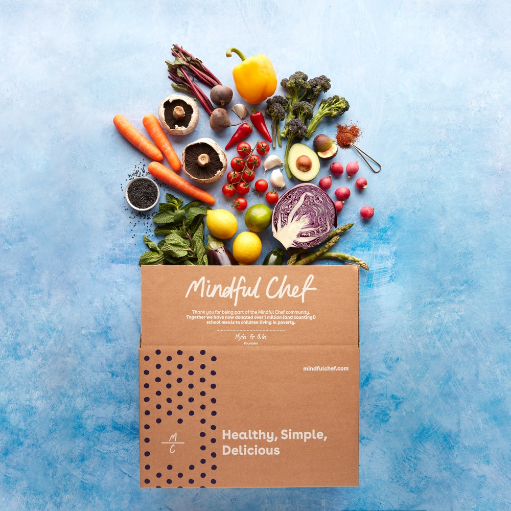 Mindful Chef Recipe box